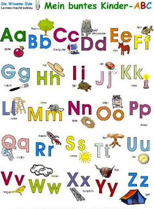 A To Z Alphabet Small Letters