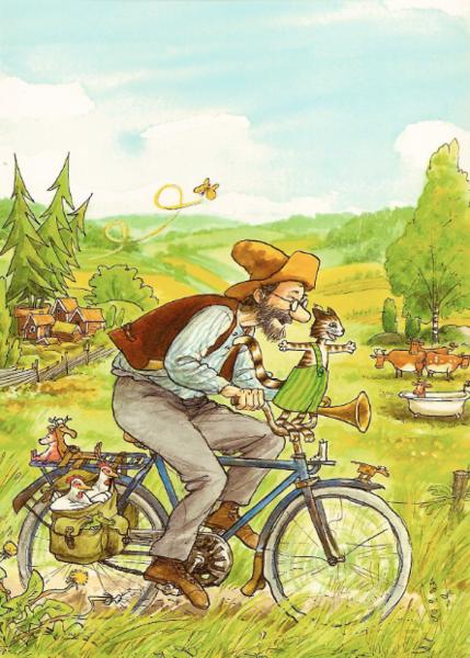 postkarten von pettersson und findus im kinderpostershop