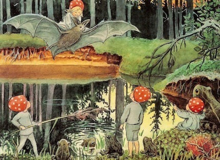 Children of the forest and the bat