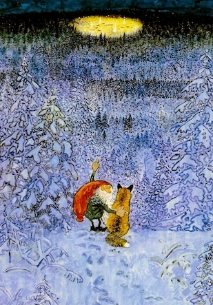 Tomte and the fox