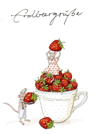 Strawberry greetings