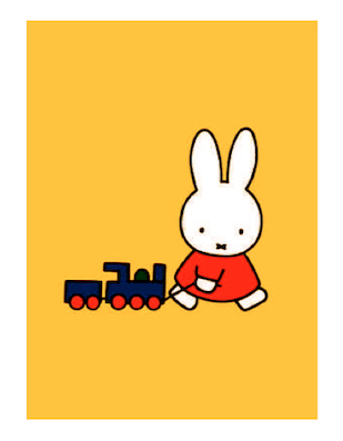 Miffy and train