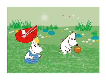 Moomin in summer