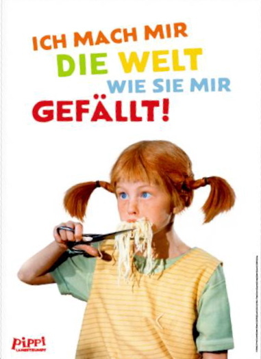 Pippi Langstrumpf Poster Im Kinderpostershop Und Posterladen Berlin