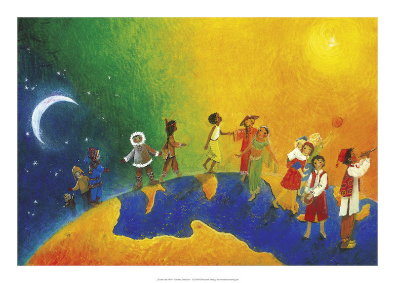 Kinder der Welt   Poster für Kindergarten und zu Hause ...