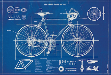 TEN-SPEED ROAD BICYCLE