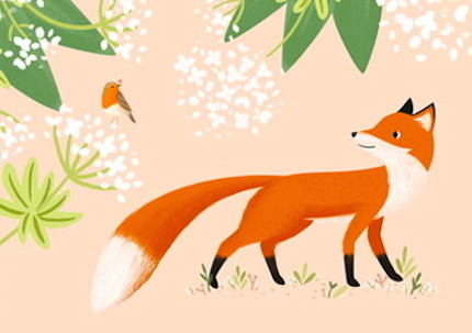 Fox and redbreast